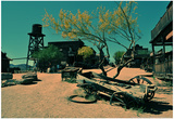 Ghost Town in Scottsdale Arizona Print