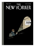 The New Yorker Cover - November 12, 2012 Premium Giclee Print by Adrian Tomine
