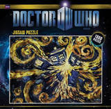 Doctor Who Exploding Tardis 1000 Piece Jigsaw Puzzle Puzzle