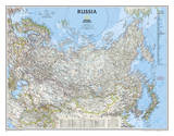 National Geographic - Russia Classic Map Laminated Poster Prints by National Geographic