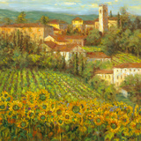 Provencal Village IV Prints by  Longo