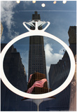 Rockefeller Center Reflection Posters