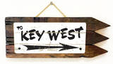 Key West Vintage Wood Sign