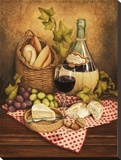 Chianti II Stretched Canvas Print by Anna Browne
