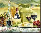 Tuscan Textures Reproduction transférée sur toile par Karen Honaker