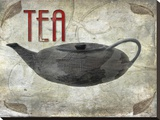 Tea Stretched Canvas Print by Karen J. Williams