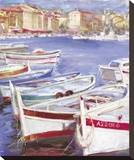 A View Of Nice Stretched Canvas Print by Richard Judson Zolan