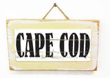 Cape Cod Vintage Wood Sign