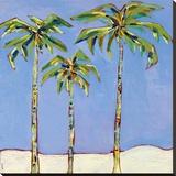 So Cal Palm I Leinwand von Jan Weiss