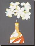 Moderno Vaso II Stretched Canvas Print by Monica Kuchta
