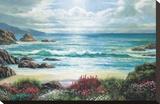 Blossoms By The Ocean Toile tendue sur châssis par Nenad Mirkovich