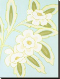 Spring and White Floral III Stretched Canvas Print by Monica Kuchta