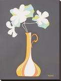 Moderno Vaso I Stretched Canvas Print by Monica Kuchta