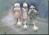 3 + 3 Reproduction sur toile tendue par Richard Judson Zolan
