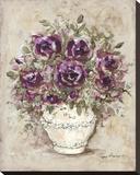 Lavender Blossoms l Reproduction sur toile tendue par Peggy Abrams