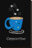 Cappuccino Stretched Canvas Print by Najah Clemmons