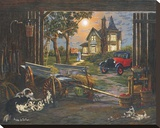 Harvest Memories Stretched Canvas Print by Aaron B. Faulkner