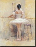 Ballet Barre Stretched Canvas Print by Richard Judson Zolan