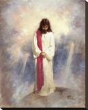 Heavenly Prayer Stretched Canvas Print by Richard Judson Zolan