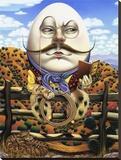 Humpty Dumpty Reproduction transférée sur toile par Gregory Truett Smith