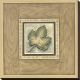 The Fig Leaf Reproduction transf&#233;r&#233;e sur toile par Constance Lael
