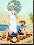 Lemon Drops Stretched Canvas Print by Fred Calleri
