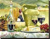 Tuscan Textures Reproduction sur toile tendue par Karen Honaker