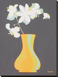 Moderno Vaso III Stretched Canvas Print by Monica Kuchta