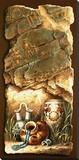 Carafes d'eau Reproduction transférée sur toile par James Lee