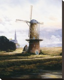 Breeze Over Zeeland Stretched Canvas Print by Francis Mastrangelo