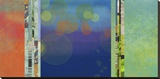 Night Lights II Reproduction sur toile tendue par Jan Weiss