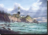 Montauk Point Stretched Canvas Print by Rudi Reichardt