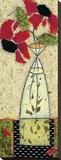 Roses à oeil noirI Toile tendue sur châssis par Penny Feder