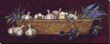 Garlic And Olives Reproduction sur toile tendue par Susan Winget
