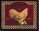 Pride Brand II Stretched Canvas Print by Susan Winget