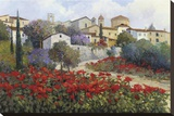 Luicignano Adorned Stretched Canvas Print by Kent Wallis