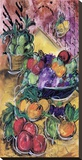Fruta Alegra l Stretched Canvas Print by Tanya M. Fischer