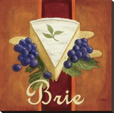 Brie Stretched Canvas Print by Geoff Allen