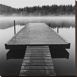 Arrow Dock, Salt Spring Island Stretched Canvas Print by Reid Yalom
