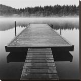 Arrow Dock, Salt Spring Island Stretched Canvas Print by Reid Yalom