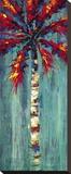 Coastal Palm I Stretched Canvas Print by J. Martin