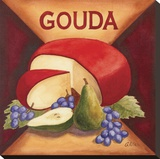 Gouda Stretched Canvas Print by Geoff Allen