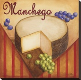 Manchego Stretched Canvas Print by Geoff Allen