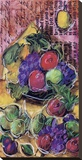 Fruta Festiva ll Stretched Canvas Print by Tanya M. Fischer