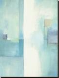 Optimistic Bedruckte aufgespannte Leinwand von Weston Taylor