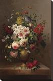 Bouquet classique II Toile tendue sur châssis par  Steiner