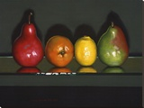 Citrus Squeeze Stretched Canvas Print by J. Alex Potter
