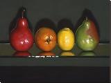 Citrus Squeeze Stretched Canvas Print by J. Alex Potter