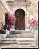 Puerta De La Vida Stretched Canvas Print by Mary Schaefer