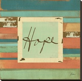 Hope Stretched Canvas Print by Grace Pullen